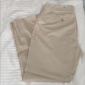 Rafaella khaki colored dress pants